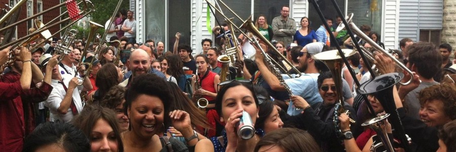 School of HONK plays Porchfest!