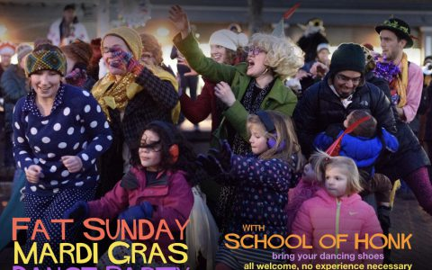 Fat Sunday Dance Party at CRLS